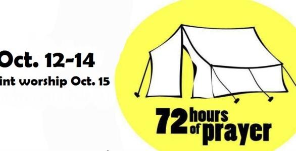 72 Hours of Prayer Slide