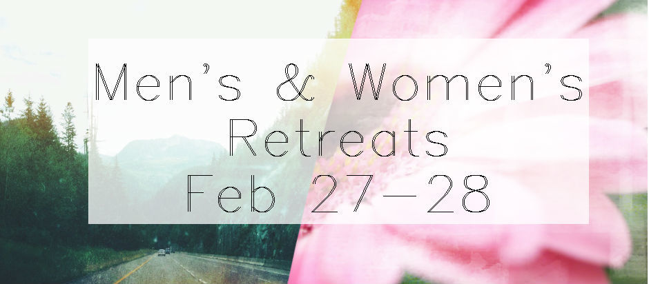 Men's Women's Retreat